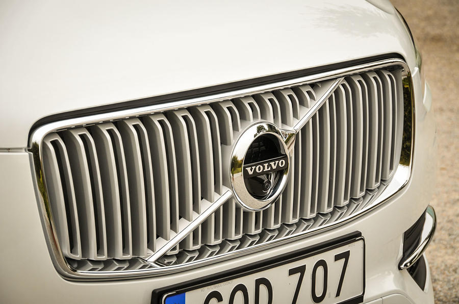 Volvo XC90 front grille