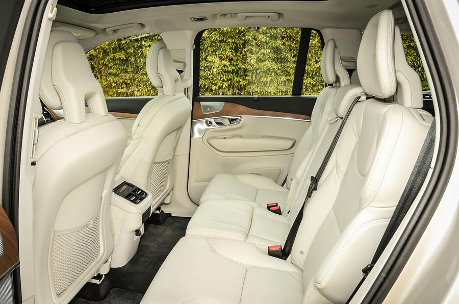 Volvo XC90 T8 rear seats