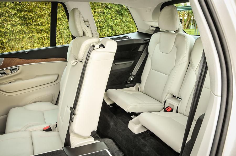 Volvo XC90 third row seats