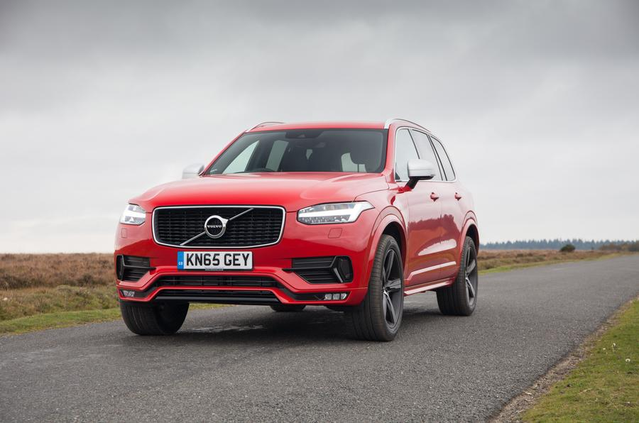 Volvo Xc90 R Design Revealed Autocar