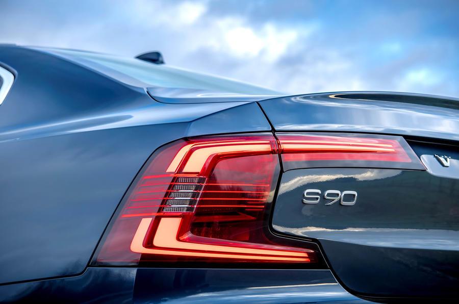 Feu arrière de la Volvo S90 T8