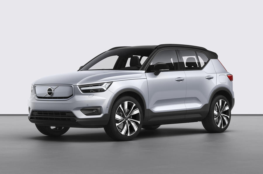 volvo xc40 recharge p8 orders open for electric suv  autocar
