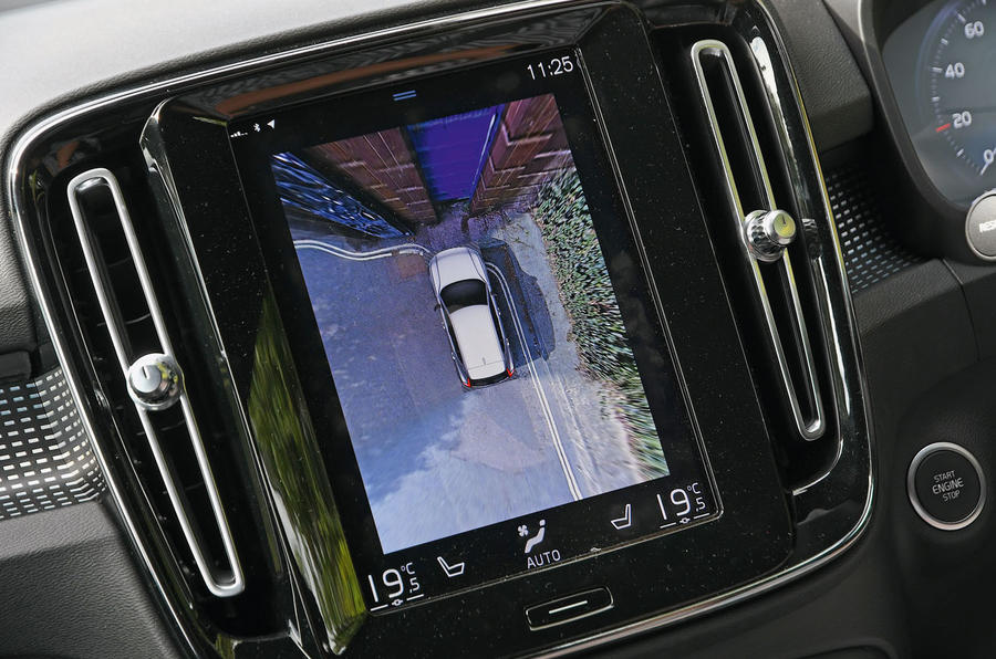 Volvo XC40 long term review - rear view camera