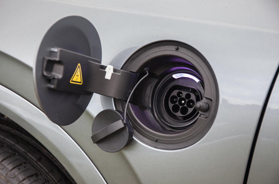 Volvo XC90 charging point