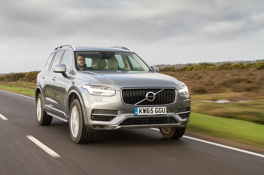 2016 volvo xc90 t8 momentum review review autocar. Black Bedroom Furniture Sets. Home Design Ideas