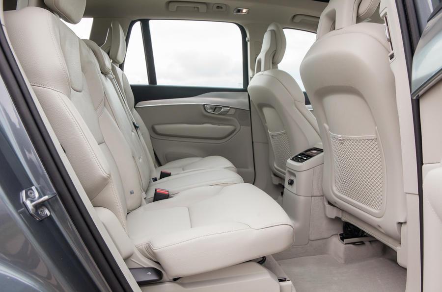 Volvo XC90 rear bench
