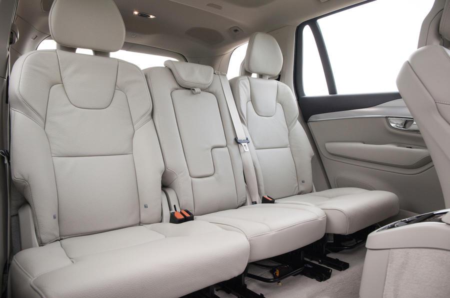 Volvo XC90 rear seats