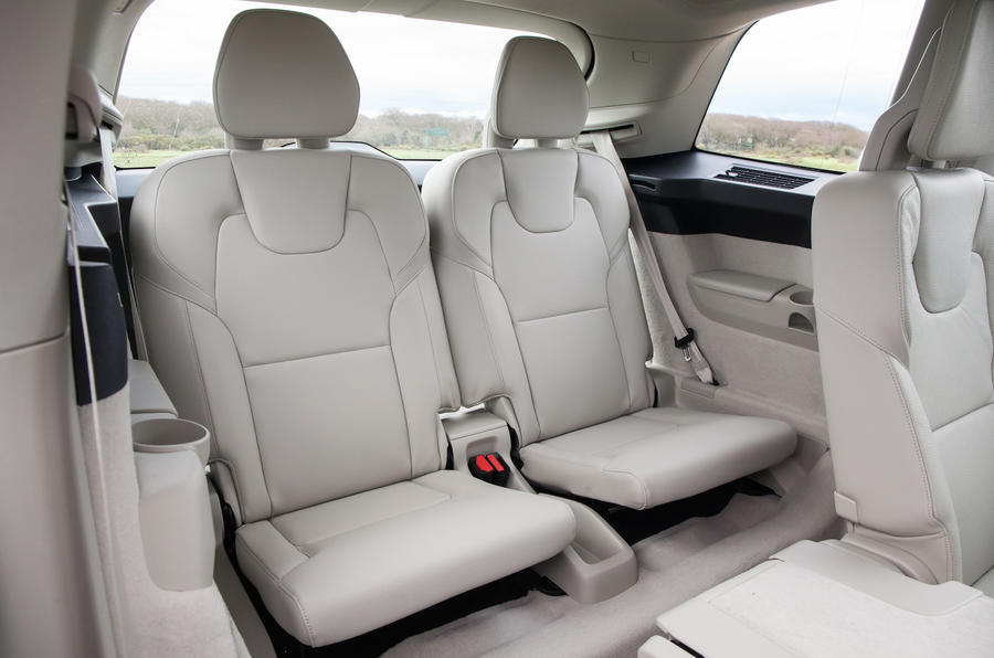 Volvo XC90 third row seats