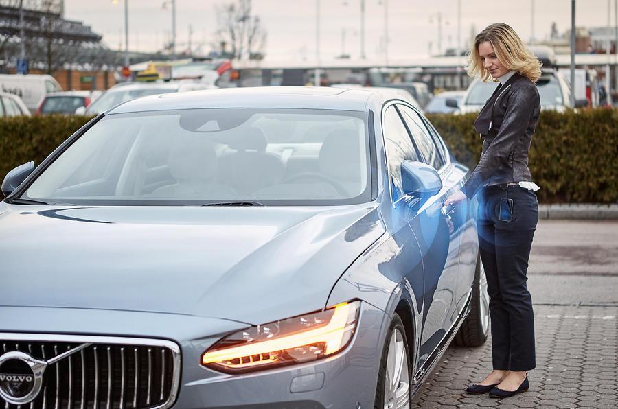 Volvo keyless