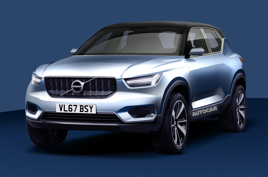 volvo xc40 confirmed for 2017 launch autocar. Black Bedroom Furniture Sets. Home Design Ideas