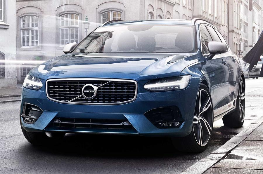 Volvo S90 and V90 R-Design models