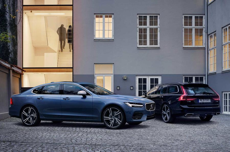 Volvo S90 and V90 R-Design models unveiled | Autocar