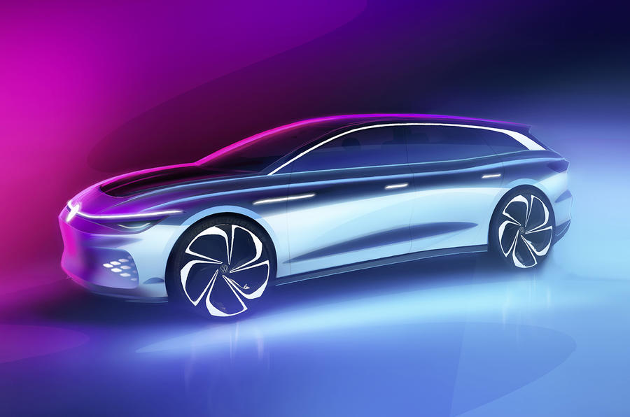 Volkswagen working on sleek electric wagon for 2021