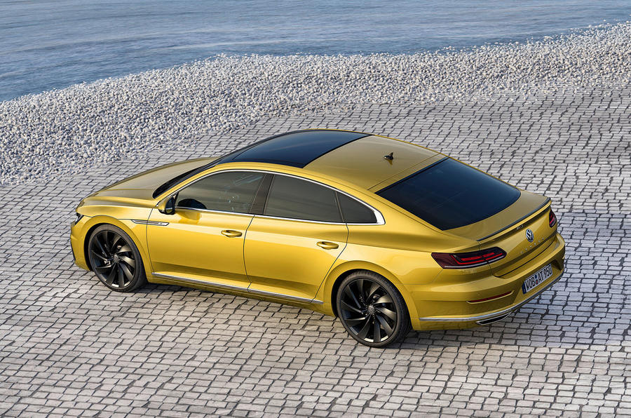 2017 Volkswagen Arteon makes public debut
