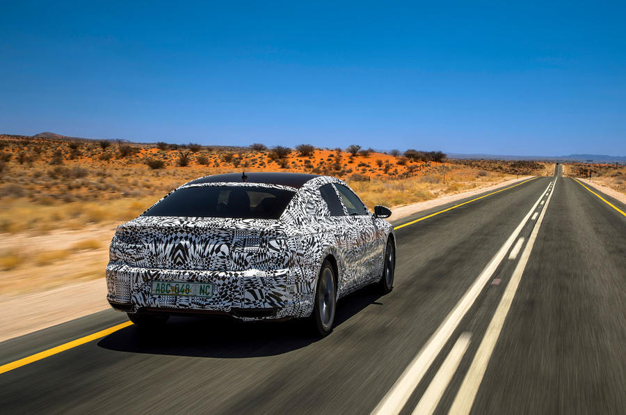 VW Arteon teaser shows fastback profile, new front end design