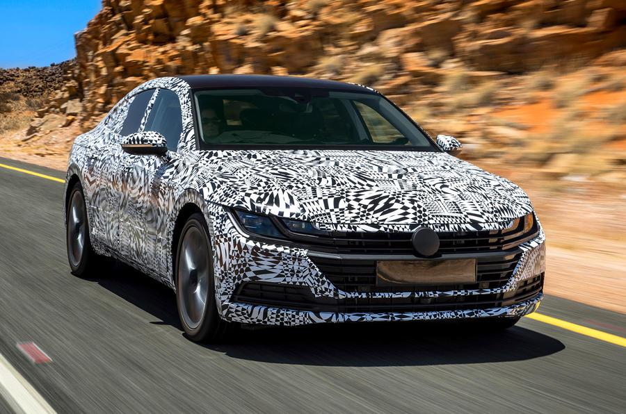 2017 Vw Arteon Prototype Review Review Autocar