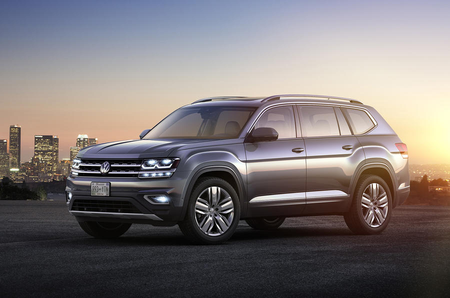 Cars For Sale In Wv >> Volkswagen Atlas could come to Europe | Autocar