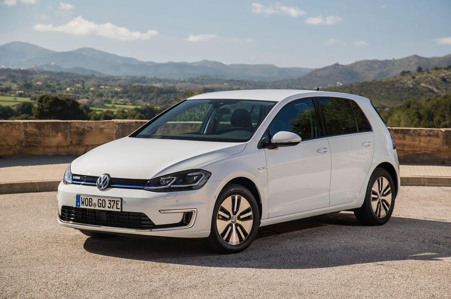 4 star Volkswagen e-Golf