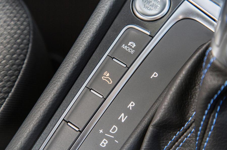 Volkswagen e-Golf EV modes