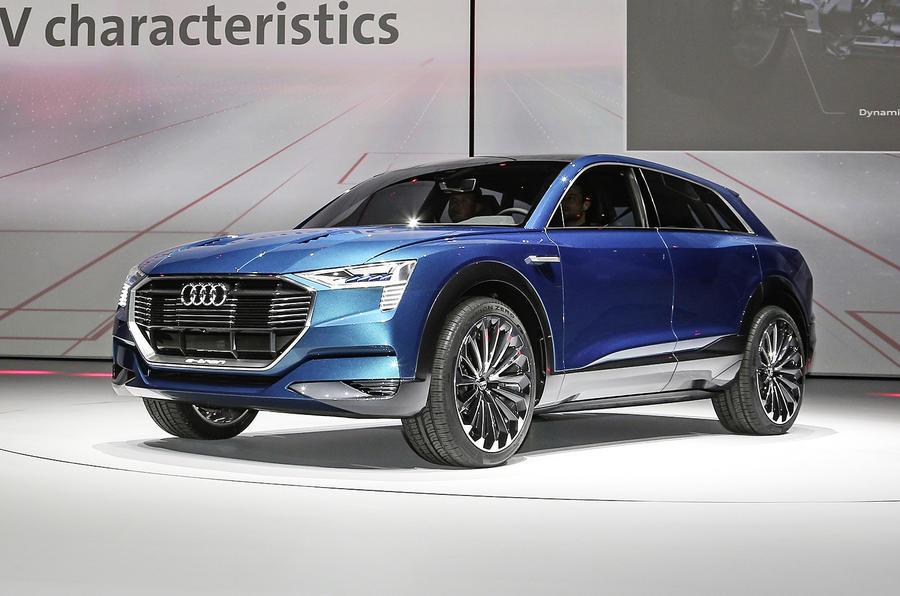 Audi Q6 E Tron Quattro Confirmed For Production Autocar