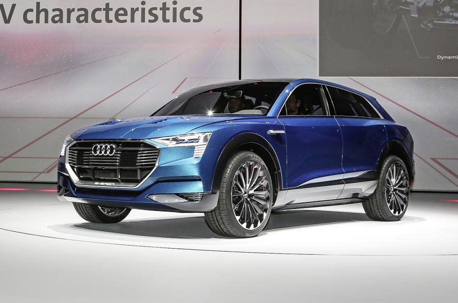 Good ... Audi E Tron Quattro Concept