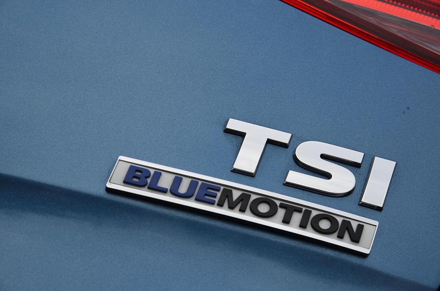 Volkswagen Golf TSI Bluemotion badging