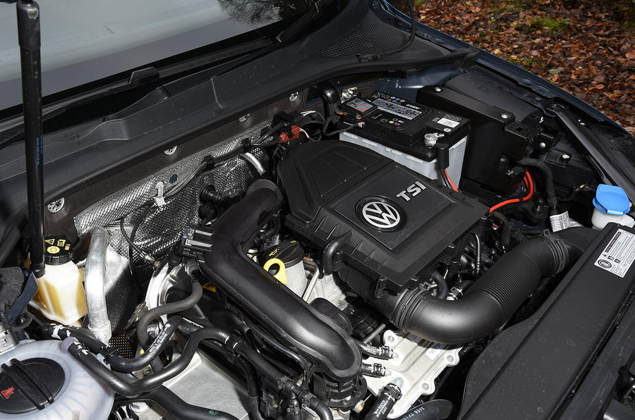 1.0-litre TSI Volkswagen Golf Bluemotion engine