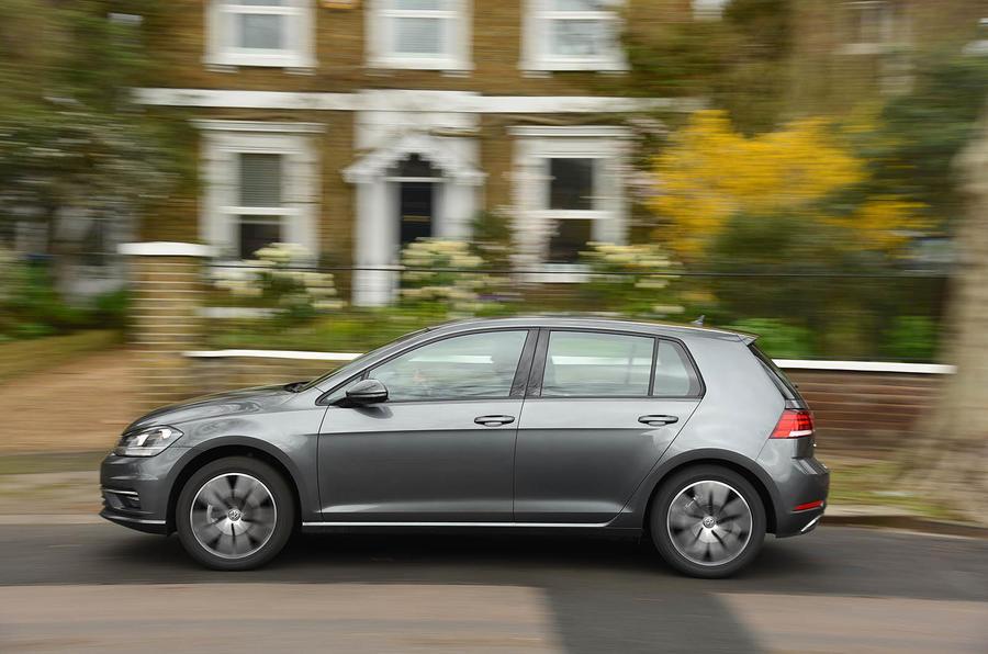 Volkswagen Golf side profile