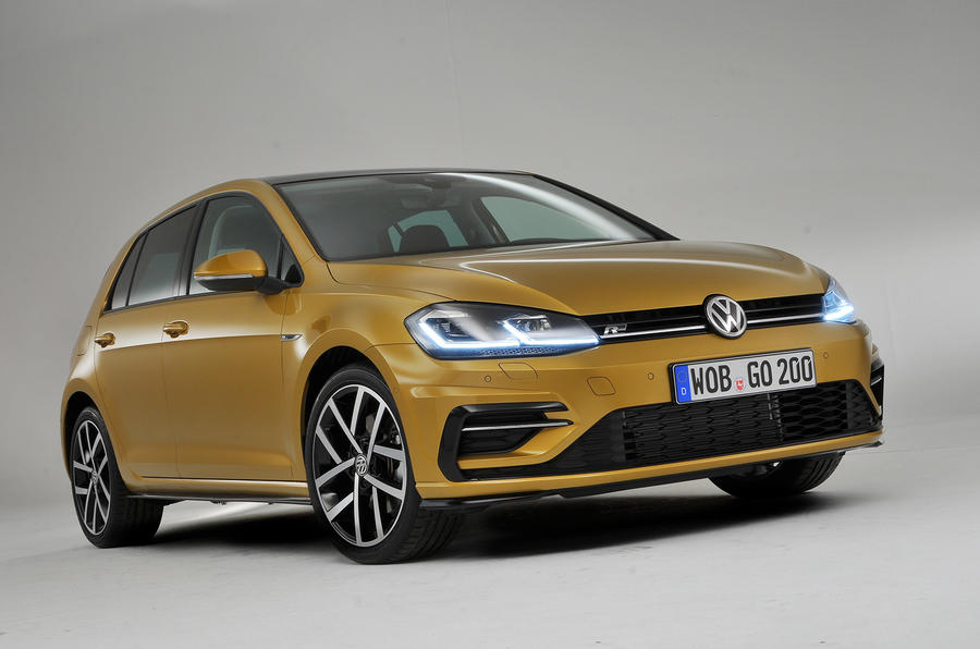 2017 volkswagen golf facelift revealed with new exclusive pictures autocar. Black Bedroom Furniture Sets. Home Design Ideas