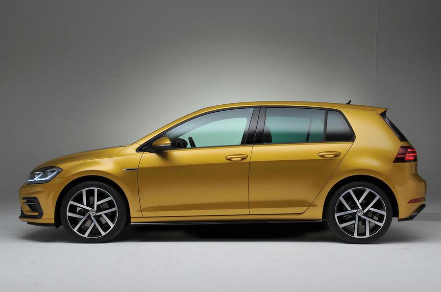 2017 volkswagen golf prices revealed autocar. Black Bedroom Furniture Sets. Home Design Ideas