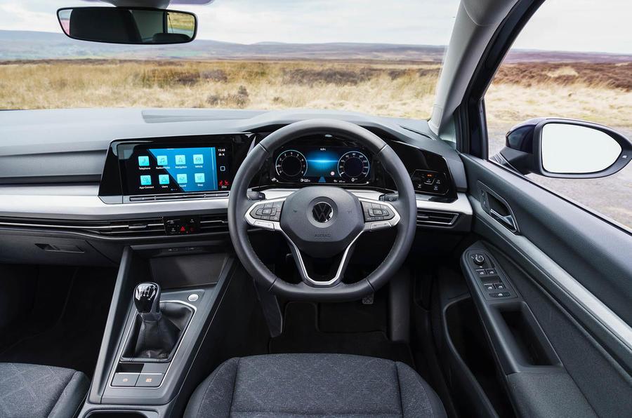 2020 Volkswagen Golf TSI 130 Life - steering wheel