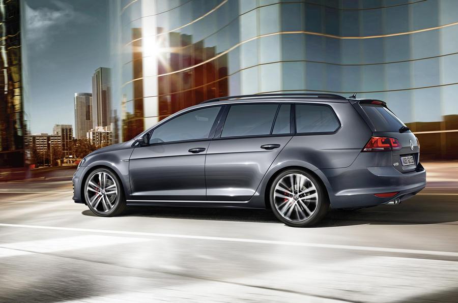 New Volkswagen Golf Gtd Estate Revealed Autocar