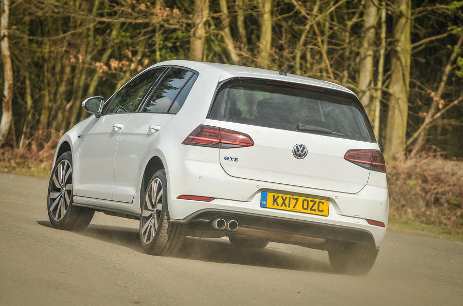 Volkswagen Golf GTE rear cornering