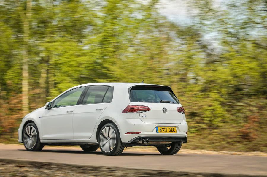 Volkswagen Golf GTE rear quarter