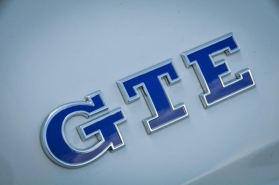 Volkswagen Golf GTE badging