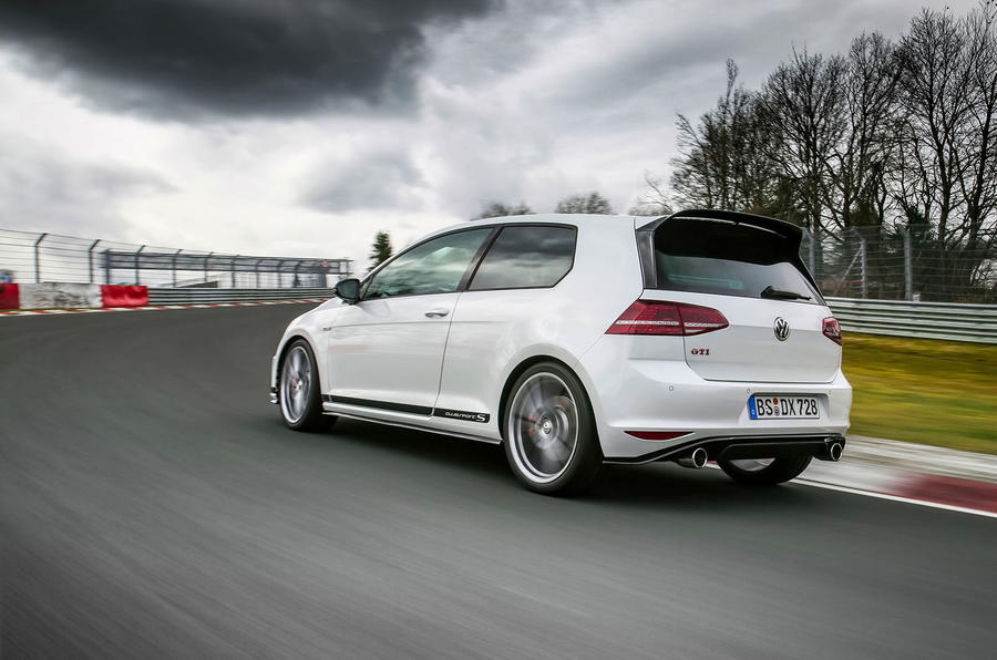 EXCLUSIVE: We ride around the Nürburgring in the VW Golf GTI