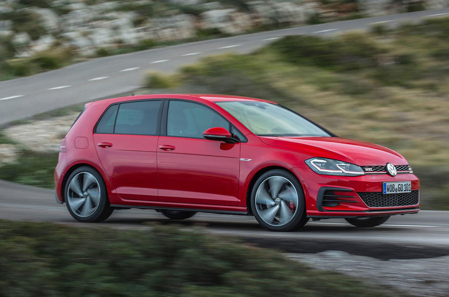 Volkswagen Golf GTI Performance side profile