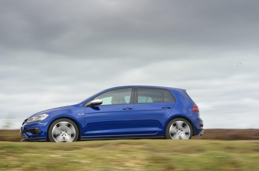 Volkswagen Golf R side profile