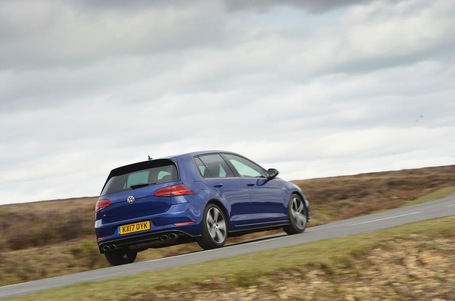 Volkswagen Golf R rear quarter