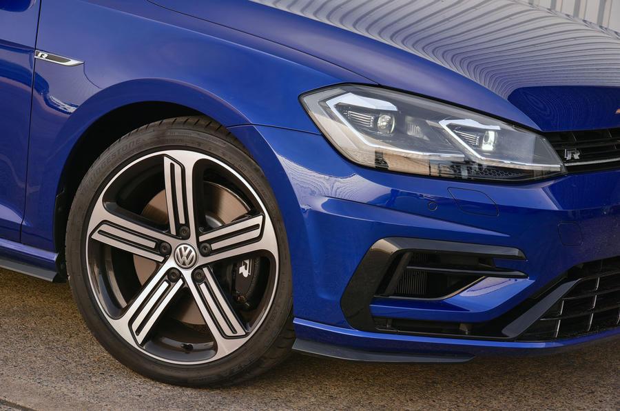 Volkswagen Golf R alloy wheels
