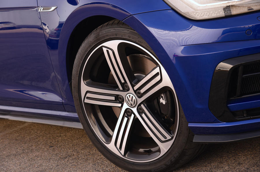 19in Volkswagen Golf R alloy wheels