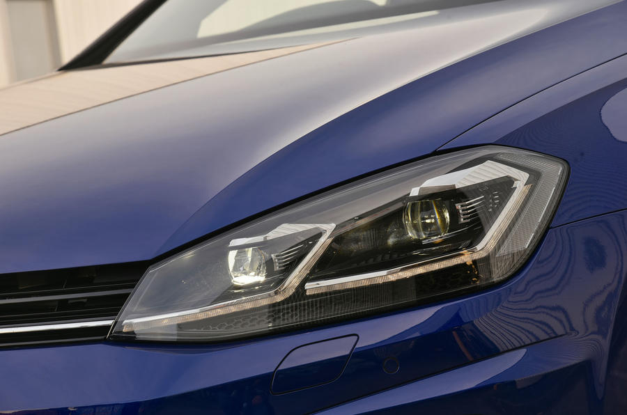 Volkswagen Golf R LED headlights