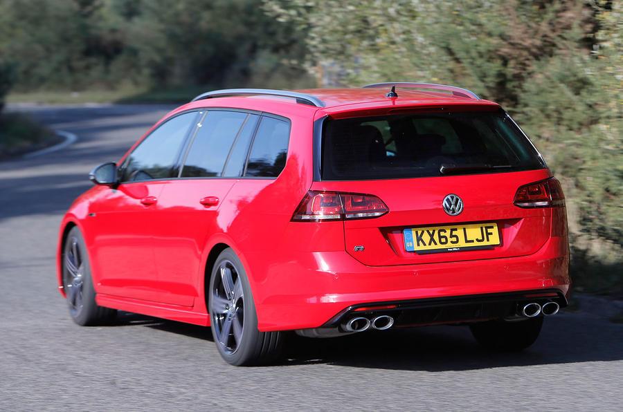 Volkswagen Golf R Estate rear