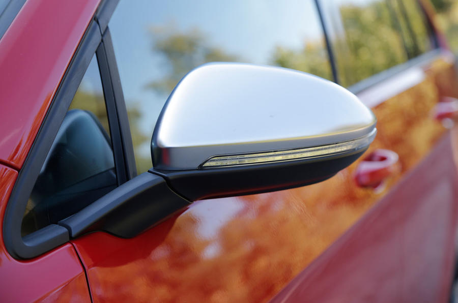 Volkswagen Golf R satin wing mirrors
