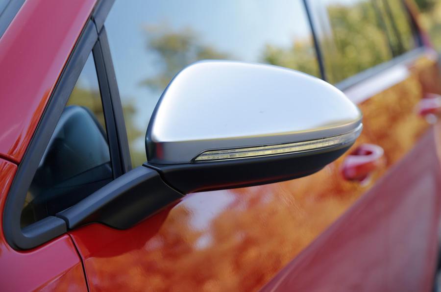 Volkswagen Golf R satin wing mirrors