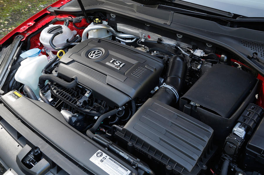 2.0-litre TSI Volkswagen Golf R engine