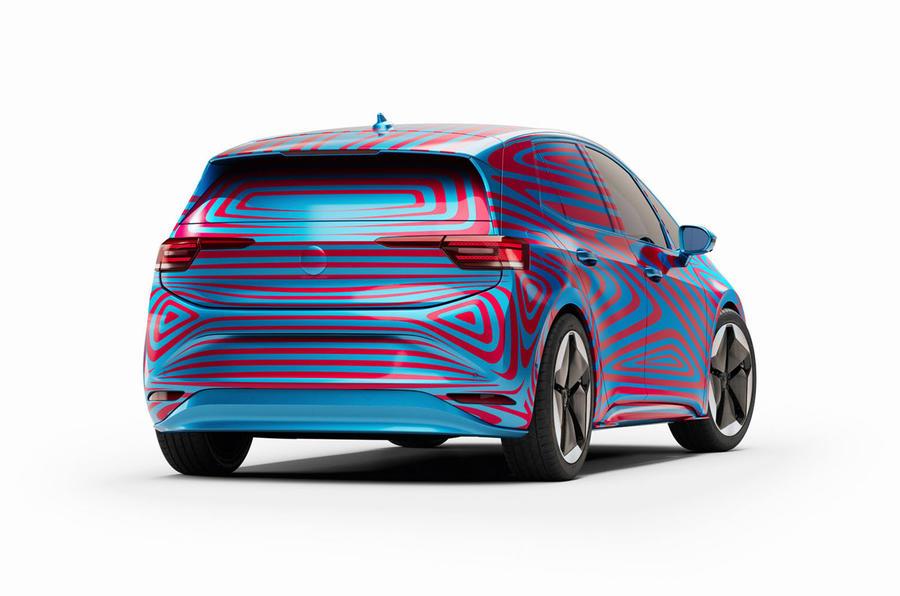 Volkswagen ID 3 rear