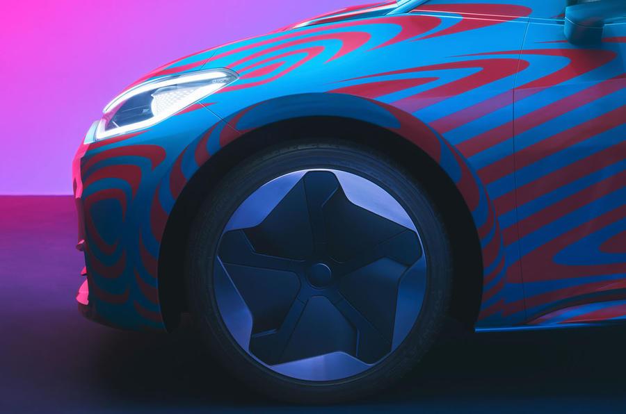 Volkswagen ID 3 front wheel