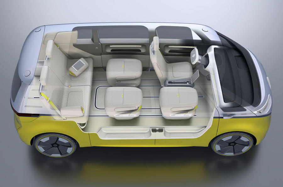 Volkswagen ID Buzz concept unveiled in Detroit