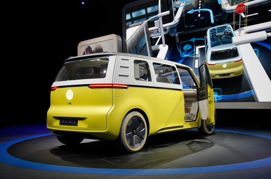 New Volkswagen Microbus Concept Revealed At Detroit Motor